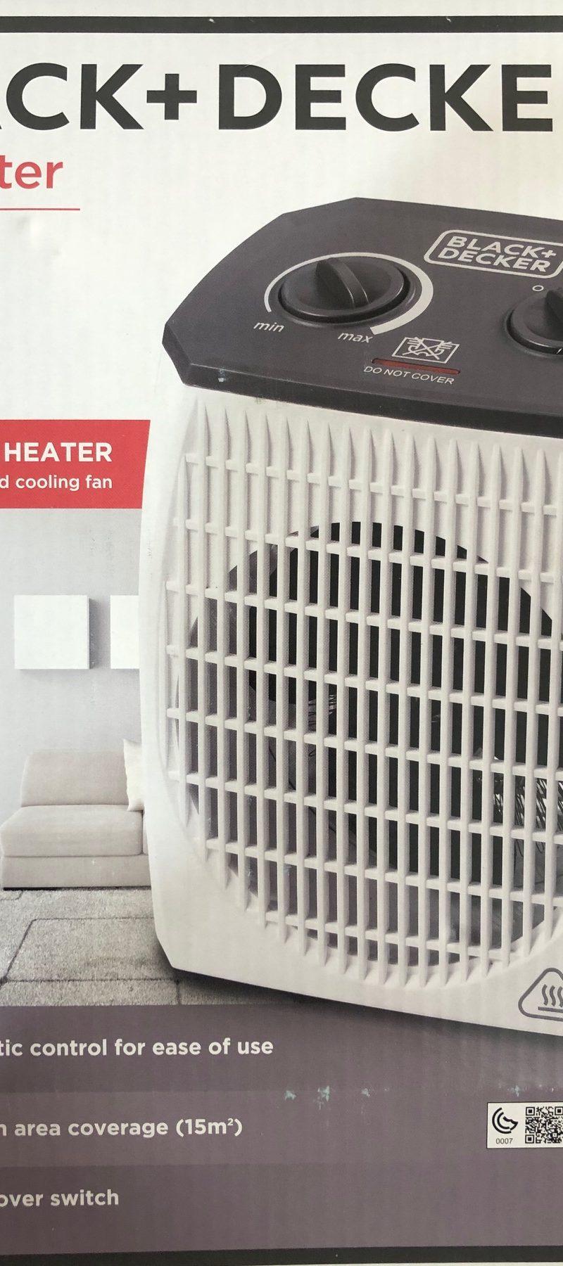 Fan Heater Black & Decker HX310