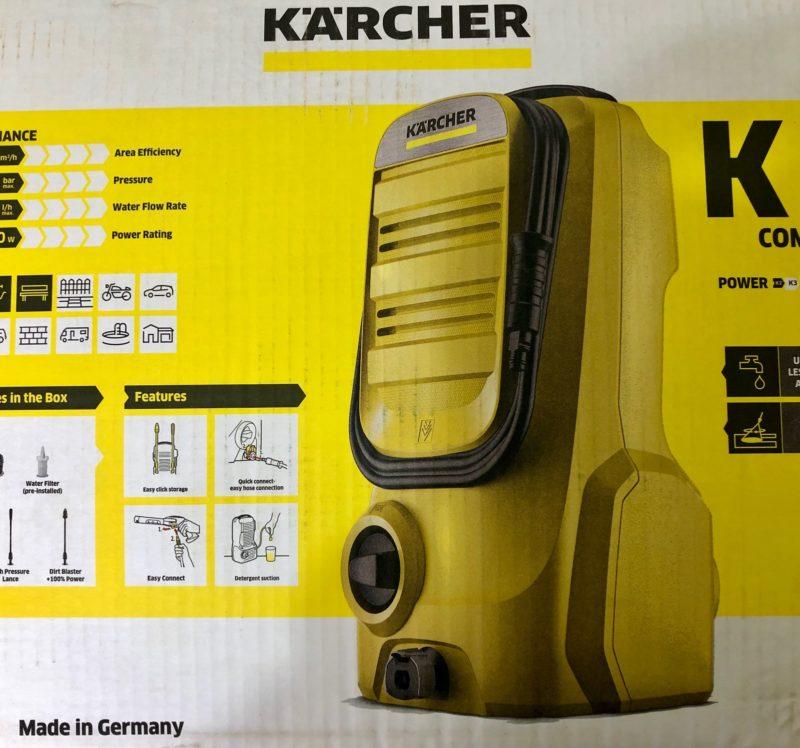 Karcher K2 Compact High Pressure Washer
