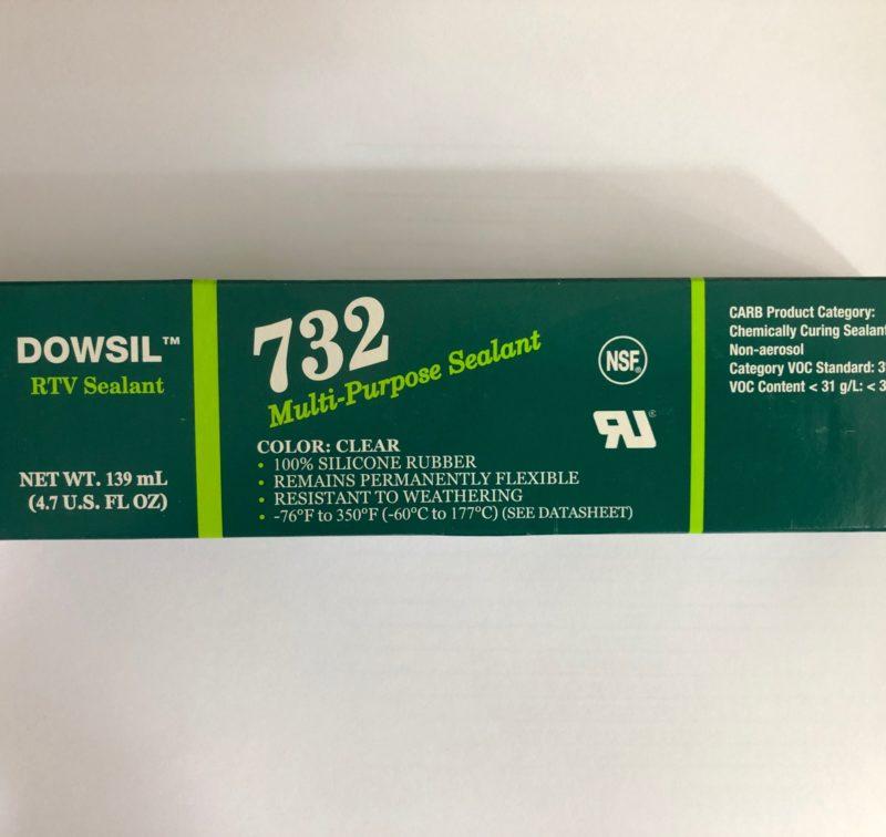Dow Corning 732 Clear 139ml Dowsil Silicon Sealant